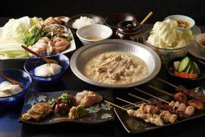 とりいちず酒場 西武新宿駅前店の鶏料理が満喫できるコース